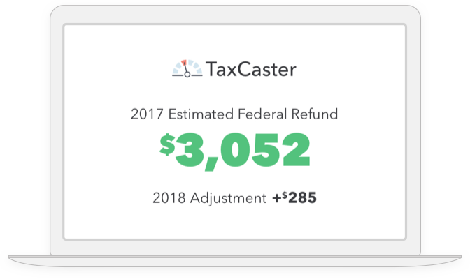 Estimate how your refund could change in the future