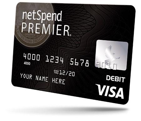 NetSpend Premier Visa Prepaid Card - TurboTax®