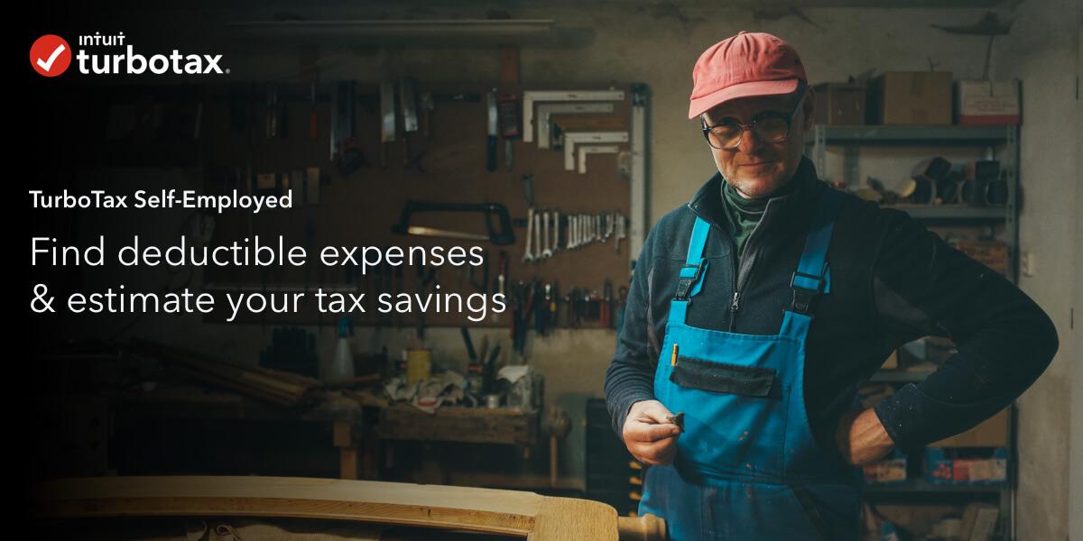 turbotax u00ae self-employed expense estimator